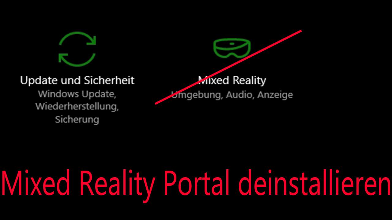 Mixed Reality Portal Windows 10
